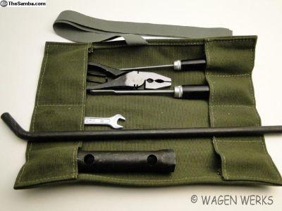 Tool Roll Kit - Bug Type 2 Ghia - Green