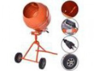 Goplus HP Electric Cement Mixer Cubic Ft Tall Portable Cemen