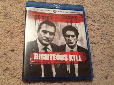 Righteous Kill BluRay
