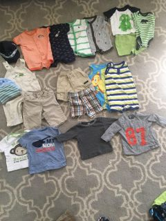 Size 3-6 month baby boy lot