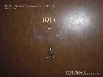 1 bedroom 1 Btah - 6301 N Barcelona Ct #1011- OWNER / AGENT