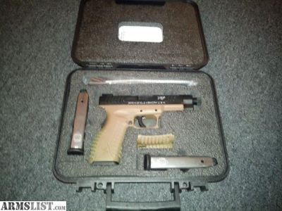 For Sale: Springfield XDM 45 threaded barrel