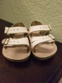 Baby Girl Saltwater Sandals Size 2