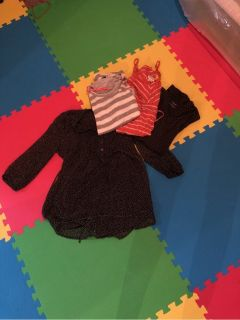 maternity clothes, size small