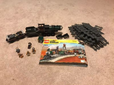 Lego The Lone Ranger Train & Extra Track