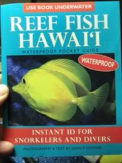 Never Used - Reef Fish Hawai i WATERPROOF Pocket Guide