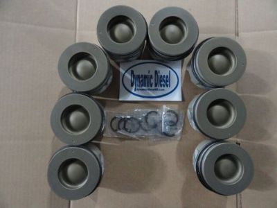 Purchase 6.6 GM Duramax Diesel Ceramic Coated Pistons 2001-2015 motorcycle in Parma, Michigan, United States, for US $1,299.99