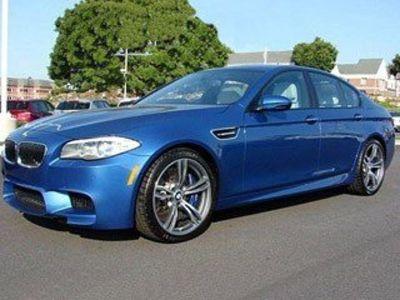 2013 BMW M5 (Monte Carlo Blue Metallic)