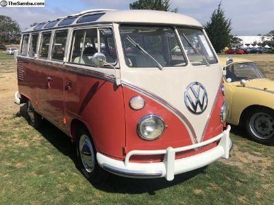 1963 Volkswagen Microbus Deluxe Sunroof Walkthroug