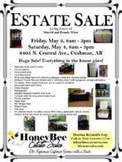 Harold and Brenda Wren Living Estate Sale