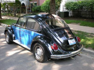 1972 VW Bug - Good Condition, Rebuilt Engine