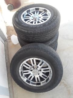 MB brand after market truck wheels.