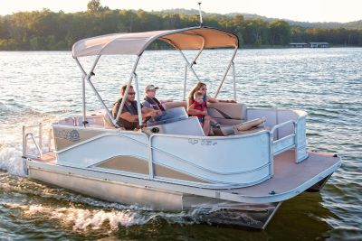2018 SunCatcher V16 Fish Pontoons Boats Muskegon, MI