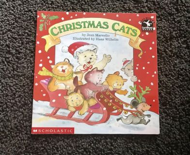 Christmas Cats Book. Retail 3.50.