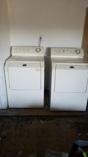 Washer and dryer Maytag brand