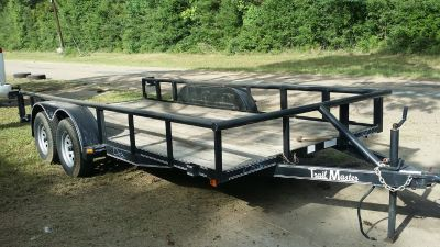16ft Tandem Axle Trailer rental