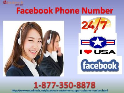 Spare your Facebook Private message through Facebook Phone Number 1-877-350-8878