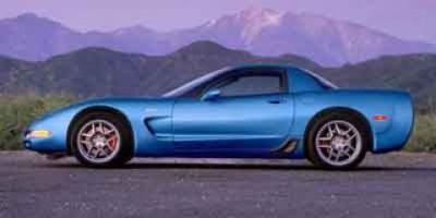2002 Chevrolet Corvette Z06 (Black)