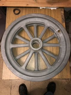 Rare! '60s American Racing Equipment Magnesium 12 Spoke Spin