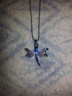 Brand new never worn still has tags excellent condition dragon fly color blue