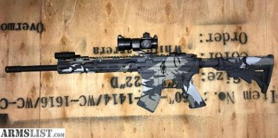 For Sale: Cerakote Predator Camo AR 15 in 7.62X39