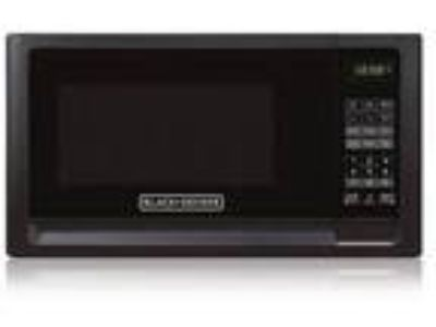 Midea Kitchen EM720CFOPMB Black & Decker .7CF Microwave