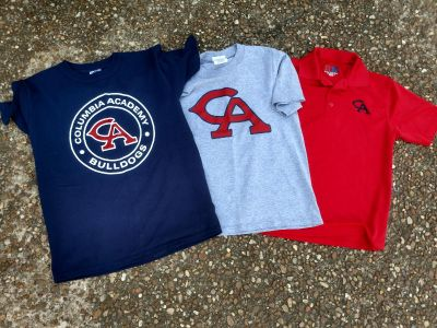 Free Columbia Academy Size Med short sleeve lot