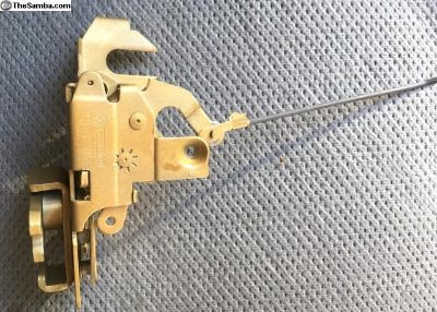 Door Latch w Rod & Clip part #VW111-837-015E