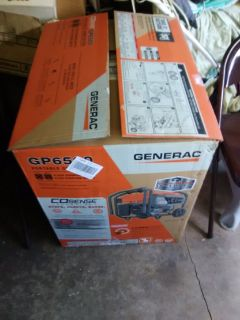 Generac 6500 generator