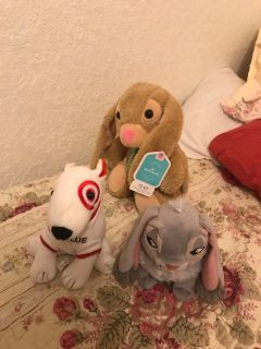 Stuff animals. $8 all or 3 each