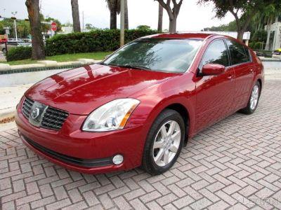 2005 Nissan Maxima 3.5 SE (Red Opulence Metallic)
