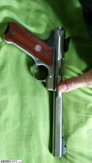 For Sale: SS Ruger Competition .22LR