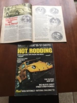 Popular Hot Rodding DDS Empi VW magazine 12/72
