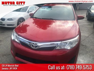 2012 Toyota Camry L (Red)