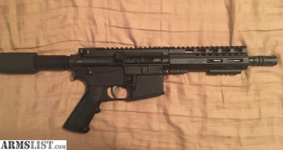 For Sale: Anderson AR15 pistol