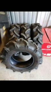 8-16 TR-144 BKT Tractor tires like new they measure 31x8x16 all 4