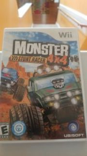 Wii Monster Stunt Racer 4 4