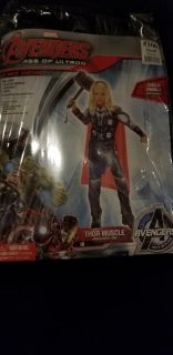 MARVEL AVENGERS AGE OF ULTRON THOR MUSCLE (SMALL 4-6)