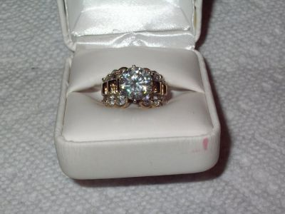PERFECT FOR ENGAGEMENT 4.44 CTTW DIAMOND ENGAGEMENT RING
