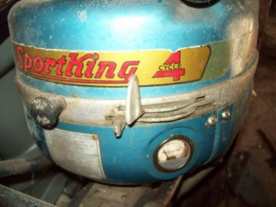 Find Lawson 2 cylinder 4 cycle outboard motor motorcycle in Bremerton, Washington, United States