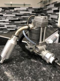 RC Motor ASP FS120 F-120 4 Four Stroke