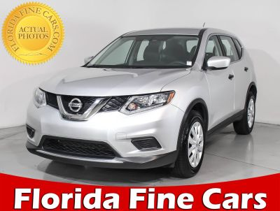 2016 Nissan Rogue S (silver)