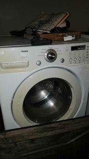 Lg front loading washer and dryer