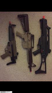 For Sale: Airsoft Guns