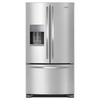 SALE ** Whirlpool 25 cf French Door Refrigerator WRF555SDFZ