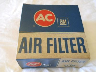 Sell NOS A176C FILTER 1957 EARLY 1958 CHEVY CORVETTE PASSENGER CAR FUEL INJECTION motorcycle in Middletown, Ohio, United States