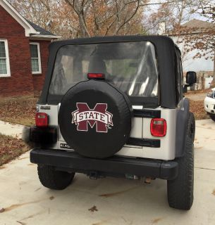 Mississippi State Tire cover for Jeep