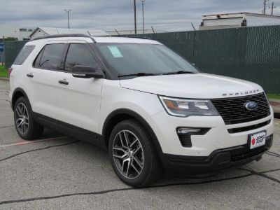 2019 Ford Explorer Sport (platinum)