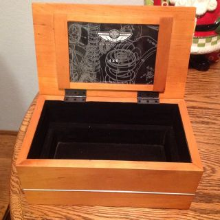 100th Anniversary Harley Davidson Jewelry Box Excellent condition never used