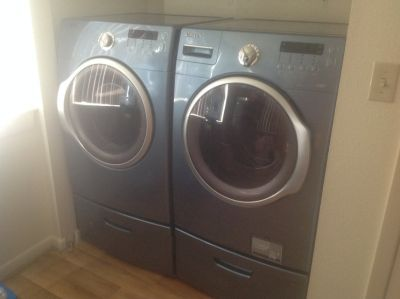 Washer and Dryer (Samsung)